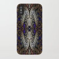 ornate elephant iPhone & iPod Cases featuring Ornate by RingWaveArt