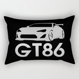 Toyota GT86 - silver - Rectangular Pillow