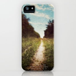 the long road home iPhone Case