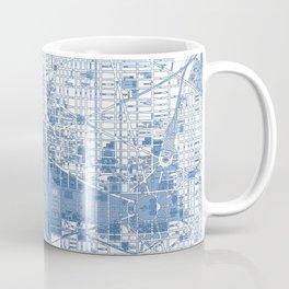 Washington DC Map Coffee Mug