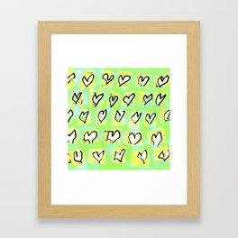 Flying Hearts ~ Change of Heart Framed Art Print