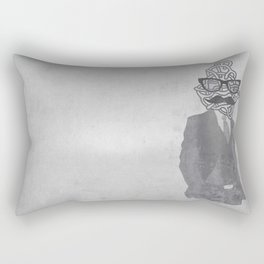 The Gentlemanly Squiggle Rectangular Pillow