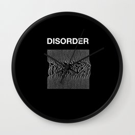 Disorder. A Joy Division/Peter Saville tribute. Wall Clock
