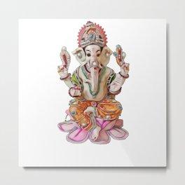 Ganesh Ganesha Ganapati Vinayaka worshipped deities Hindu pantheon Metal Print