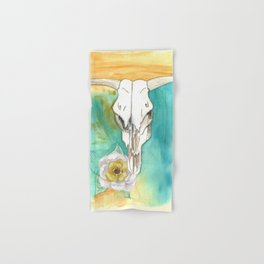 South West Cow Skull Hand & Bath Towel