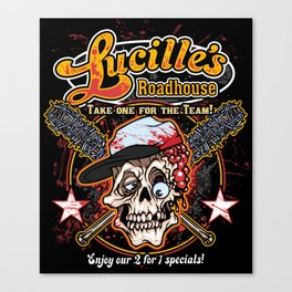 Lucille's Roadhouse Canvas Print