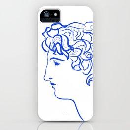 Ancient profile iPhone Case