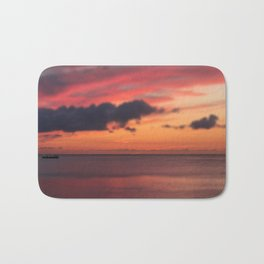 Tiny Sunset Bath Mat