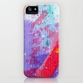 Red Splash iPhone Case