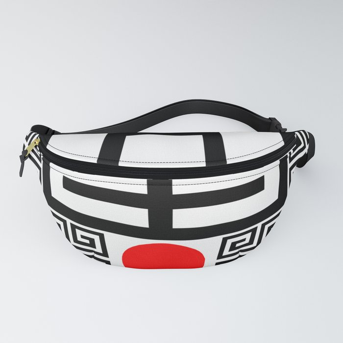 Tokyo Sun - Sacred Abstract Minimalism Fanny Pack