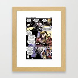 Cathair Apocalypse 01-02 Framed Art Print