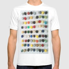 DAMIEN HIRSTED4 MEDIUM Mens Fitted Tee White