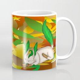 Playing with Leaves Coffee Mug