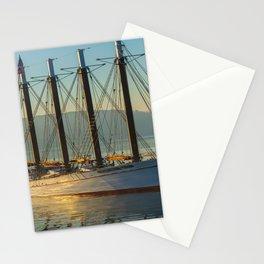 Bar Harbor Maine Margaret Tod Ship Print Stationery Cards