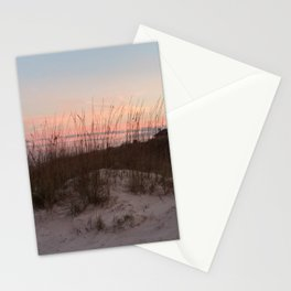 Sunset Behind the Sea Oats Stationery Cards