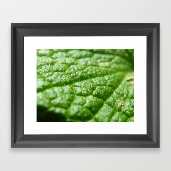super green Framed Art Print