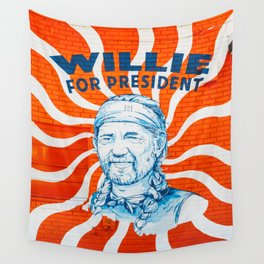 Willie For President Wall Tapestry