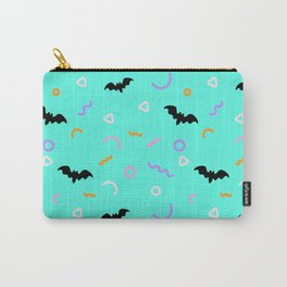 Abstract Halloween Pattern with Bat  Carry-All Pouch
