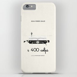 I 400 colpi  |  movie poster remake iPhone Case