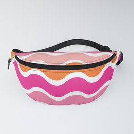 Wiggling Rainbows Fanny Pack
