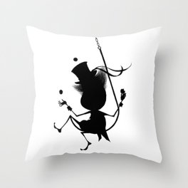 The Letter J Throw Pillow