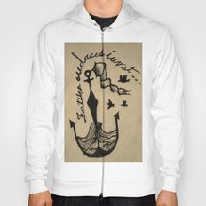 Anchor, Navy Birds Hoody