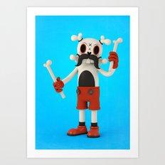 Mr.Bones Art Print