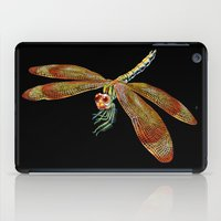 dragonfly iPad Cases featuring Dragonfly by Tim Jeffs Art