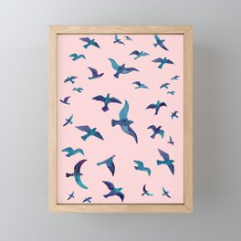 Birds II Framed Mini Art Print