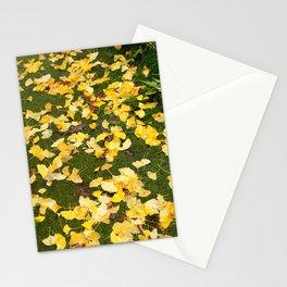 Ginkgo biloba leaves Stationery Cards