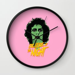 Creature of the night -The Rocky Horror Picture Show Wall Clock