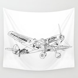 BF109 Wall Tapestry