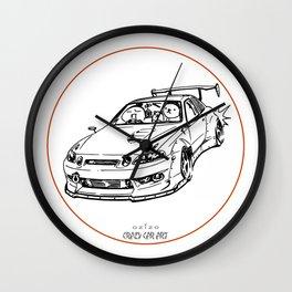 Crazy Car Art 0039 Wall Clock