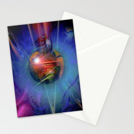 Our world is magic - Freedom Stationery Cards