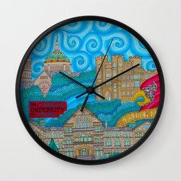 Catholic University Wall Clock