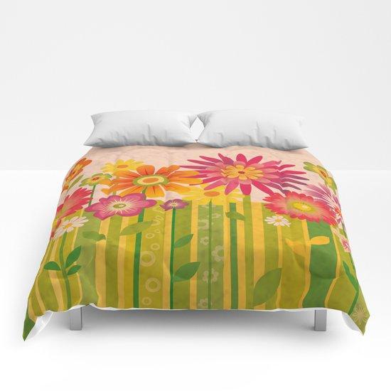 Spring Fun Comforters