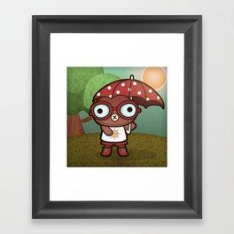 Eveline the Hypochondriac Mole Framed Art Print