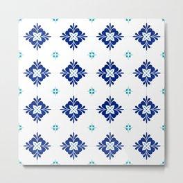 blue morrocan dream no3 Metal Print