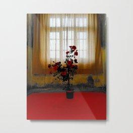 Lonesome Rose Metal Print
