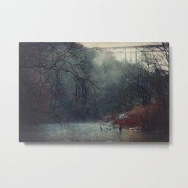 Between Fall And Winter III Metal Print