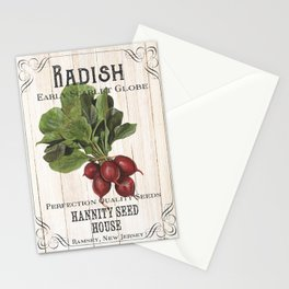 Organic Seeds 3 Stationery Cards