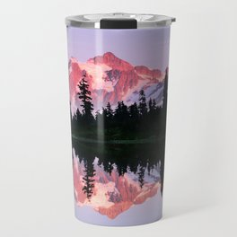 ALPINE SUMMER EVENING SUN ON MOUNT SHUKSAN NORTH CASCADE RANGE 2 Travel Mug