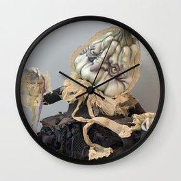 Rucus Studio Halloween Drucilla Fusspot Wall Clock