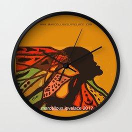 2012 The Rise of Metamorphosis Wall Clock