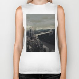 Suspension Bridge Biker Tank