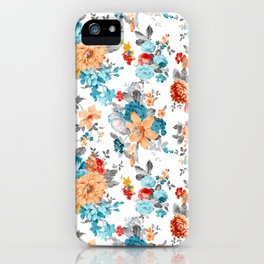Seamless Floral Pattern iPhone Case