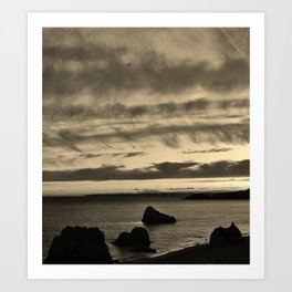 Algarve Sunset Art Print