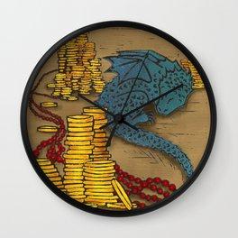 Tiny Dragon Wall Clock