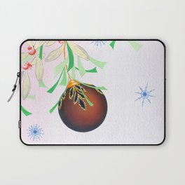 Tinsel and Bauble Laptop Sleeve