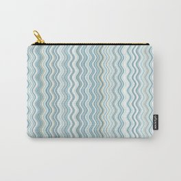 Waterfall pattern swirl wave Carry-All Pouch